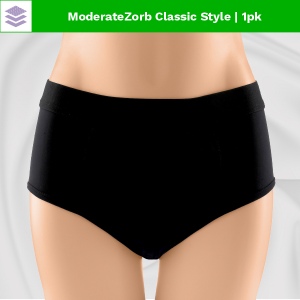 Zorbies Washable Incontinence Panties for Women