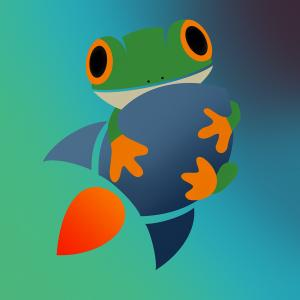 The $FROG cryptocurrency logo