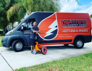 Lightning Carpet Care Truck