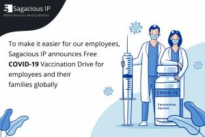 Sagacious IP Announces Free COVID19 Vaccination Drive for Employees Globally