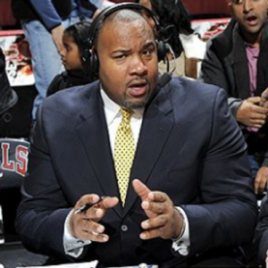 Stacey King is the voice of the Chicago Bulls known for his nicknames, quick wit, and funny tag lines.