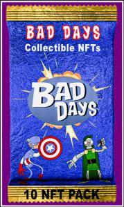 Bad Days NFT card pack