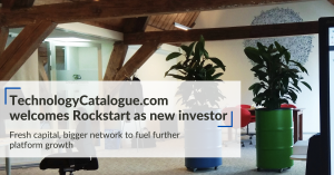 TechnologyCatalogue.com welcomes Rockstart as new investor
