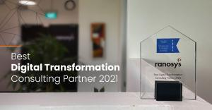 Ranosys Awarded the Best Digital Transformation Consulting Partner 2021