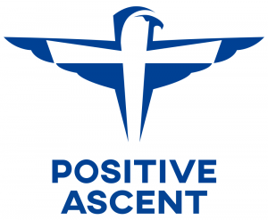 logo of the Positive Ascent.com website