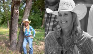 "Jennifer Hudgins, ranch manager at her family's Oklahoma cattle operation, and a contestant on season 2 of ""Ultimate Cowboy Showdown,"""