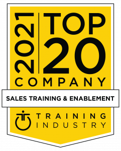 2021 Top 20 Sales Training & Enablement Award