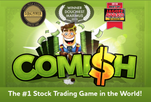 Comish Stockmarket Game Cover art
