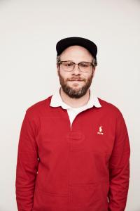 Seth Rogen recounts funny stories from his youth and from his Hollywood adventures in a book talk with producing partner Evan Goldberg on May 11.