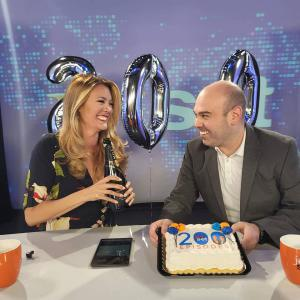 Nikki Noya and Bobby Laurie, hosts of The Jet Set, celebrate 200 shows.