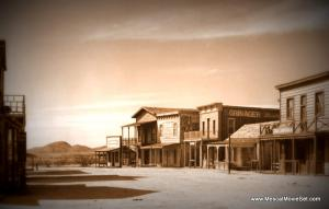 Film Set for the Movie Tombstone