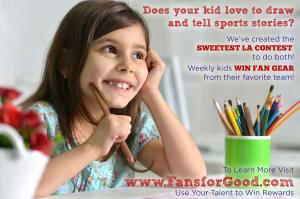Inspired by 5 year old boy, passionate about soccer #fansforgood #creativecontest #kidslovesoccer www.FansforGood.com