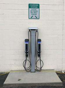 SemaConnect smart EV charging stations at East Coast Storage