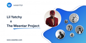 Lil Yatchy partners with Weentar as they look to launch the future of decentralised social media
