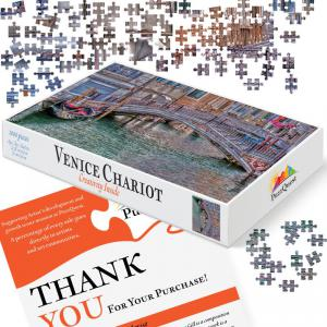 Venice Chariot 1000-piece Jigsaw Puzzle Box