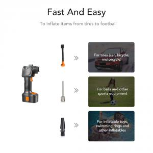 Autowit Cordless Tire Inflator Multiple Use