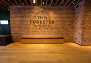 reSAWN's HERITAGE reclaimed oak at Old Foresty Distillery in Louisville, KY