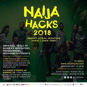 NaijaHacks will enable tech invention