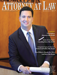 Todd Wallace, Attorney of the Month, Attorney at Law Magazine 2013