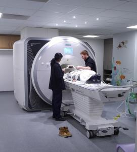 MRI Test for Thomas at Great Ormond Street Childrens Hospital