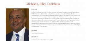 Profile of Michael J Riley, Sr