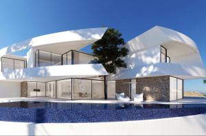Modern property for sale in Altea Spain