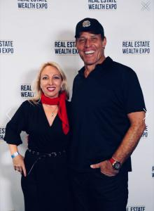 Business Etiquette Expert Maryanne Parker with The World's #1 Business Strategist Tony Robbins