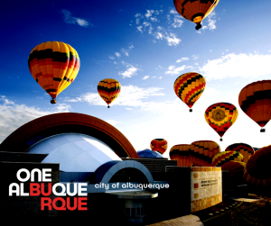 Logo for City of Albuquerque One ABQ Campaign