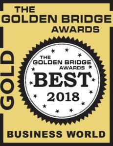 Golden Bridge Award 2018 Gold Winner Logo