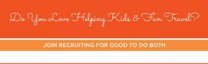 We are Empowering Moms to Use their Social Connections to Benefit the Community and Life www.RecruitingforGood.com
