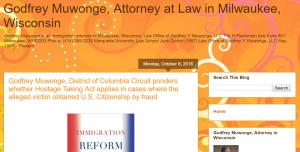 Blog of Godfrey Muwonge, Attorney in Wisconsin