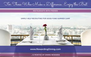 Every Year We're Rewarding Just 25 People www.RewardingDining.com