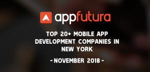 Top Mobile App Development Companies New York November 2018