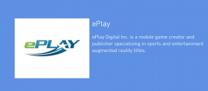ePlay Digital Inc CSE: (EPY)