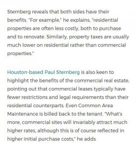 Paul Sternberg Houston