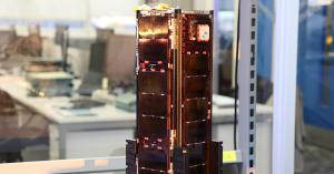 Kepler's wideband LEO satellite (close up)