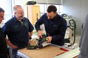 Steeve Cachelou FESTOOL tool training expert 8