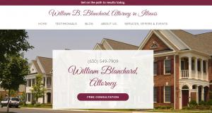 Website of William Blanchard Law