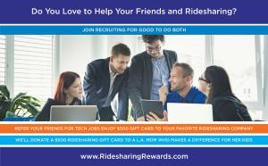 Help Your Friends Find Great Tech Jobs and Enjoy Ridesharing Rewards