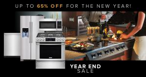 2018 Year End Sale Appliances