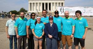 Kathy Bates, 2018 #DCLymphWalk Lincoln Memorial