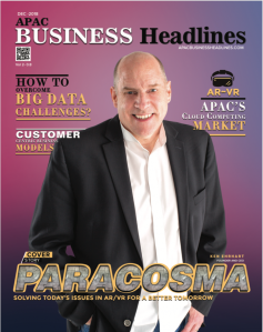 Paracosma Recognized as One of the Fastest Growing AR-VR Solution Providers by APAC Headlines Magazine - cover photo