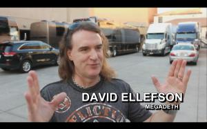 David Ellefson of the Grammy Award-winning band Megadeth is one of the many musicians featured in the film BAND VS BRAND.
