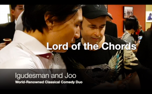 Igudesman & Joo Reacts To Lord of the Chords: The Punniest Music Theory Card Game