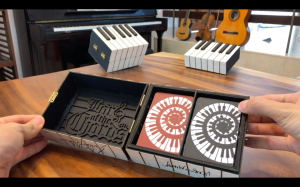 Lord of the Chords' Beautiful Piano Box Product Shot
