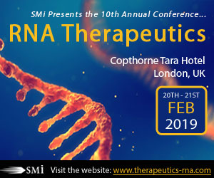 SMi's 10th Annual RNA Therapeutics Conference 2019