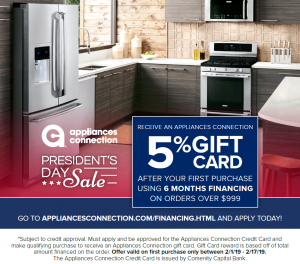 Appliances Connection Credit Card
