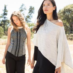 Handmade Organic Cotton Poncho and Tank | Indigenous
