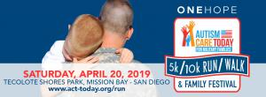 9th Annual ONEHOPE Autism Care Today for Military Families 5k/10k and Family Festival
