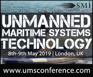 Unmanned Maritime Systems Technology conference 2019